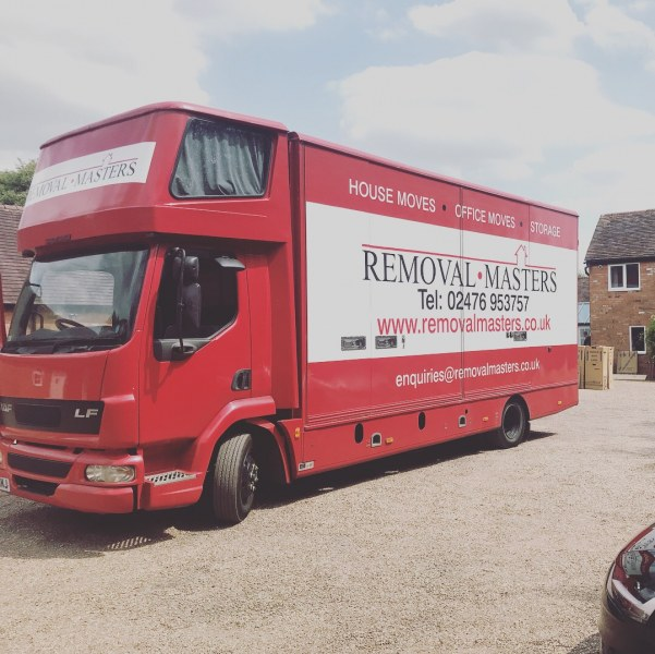 Removal Masters  lorry coventry